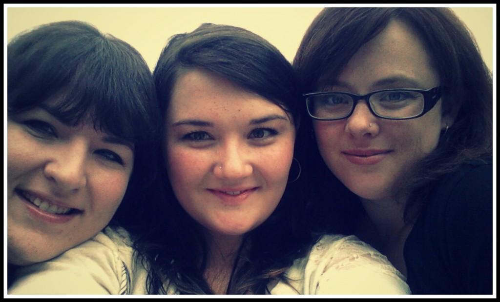 Arianne, Ash and Sarah - Lake House 2012