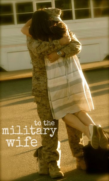 Military men with wives think, that